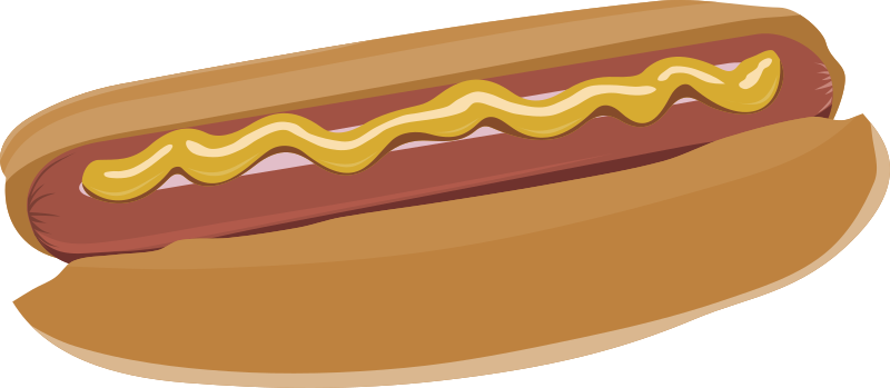 Hot dog by Rones