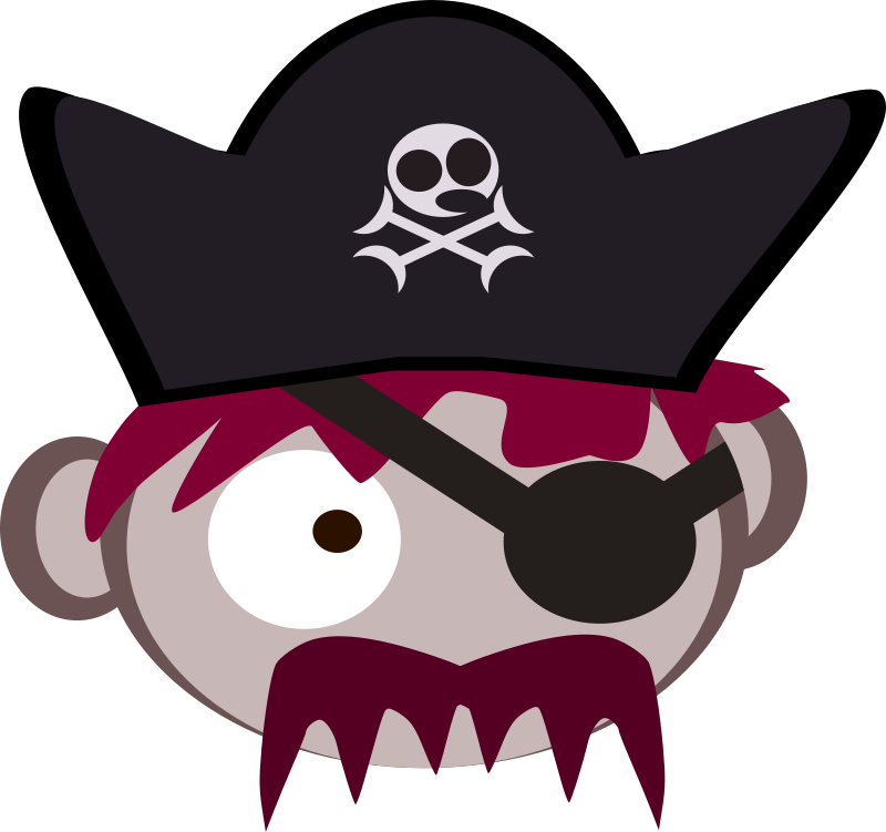Roll Pirate Captain