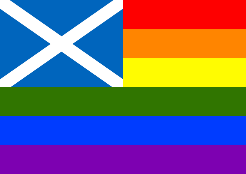 Rainbow Flag Scotland