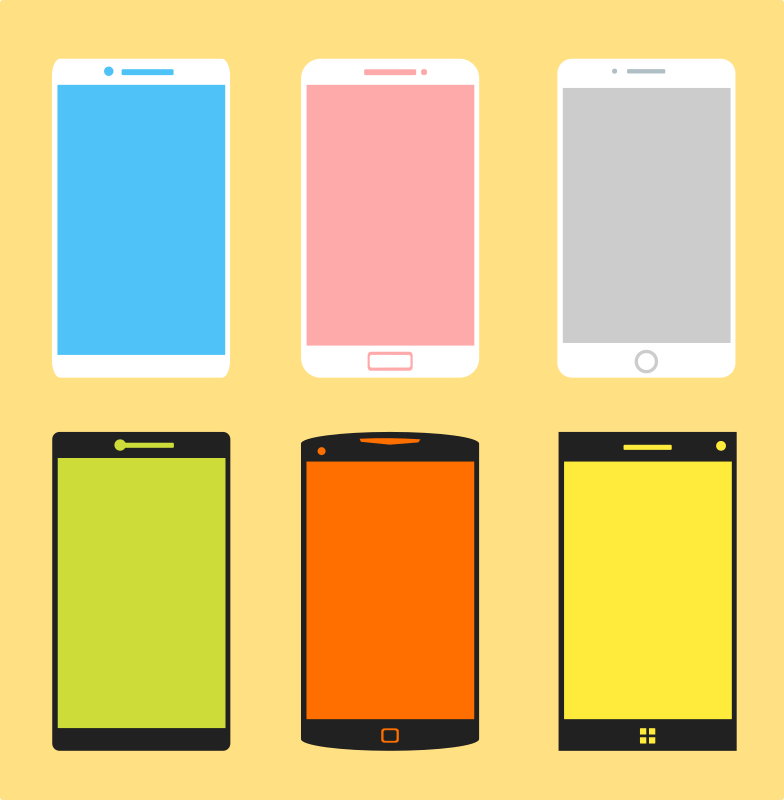 Phone Vector Pack