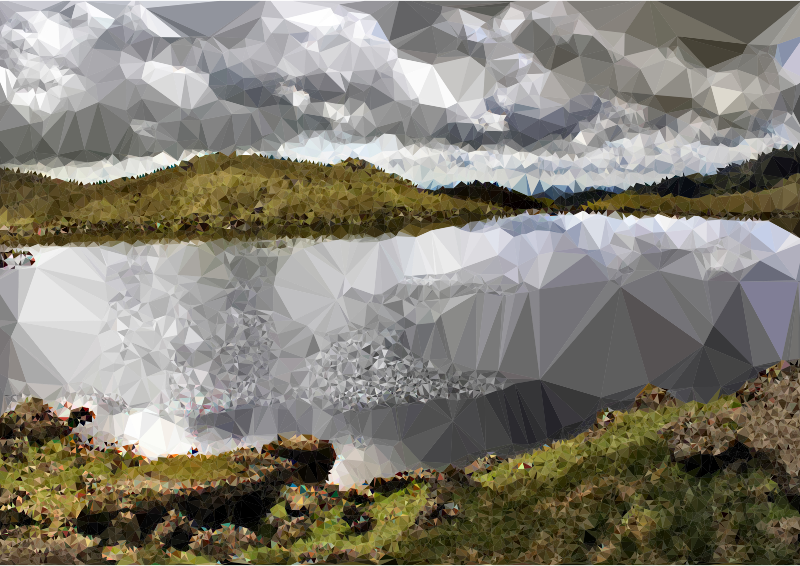 Low Poly English Lake