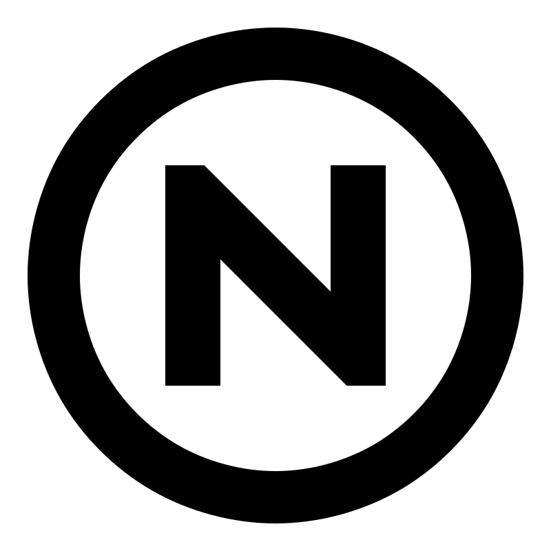 non-copyright restrictions symbol