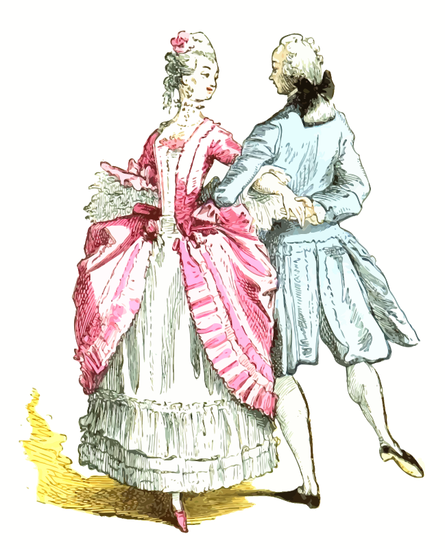 18th century French ballroom costumes 2
