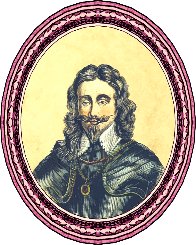King Charles I (framed)
