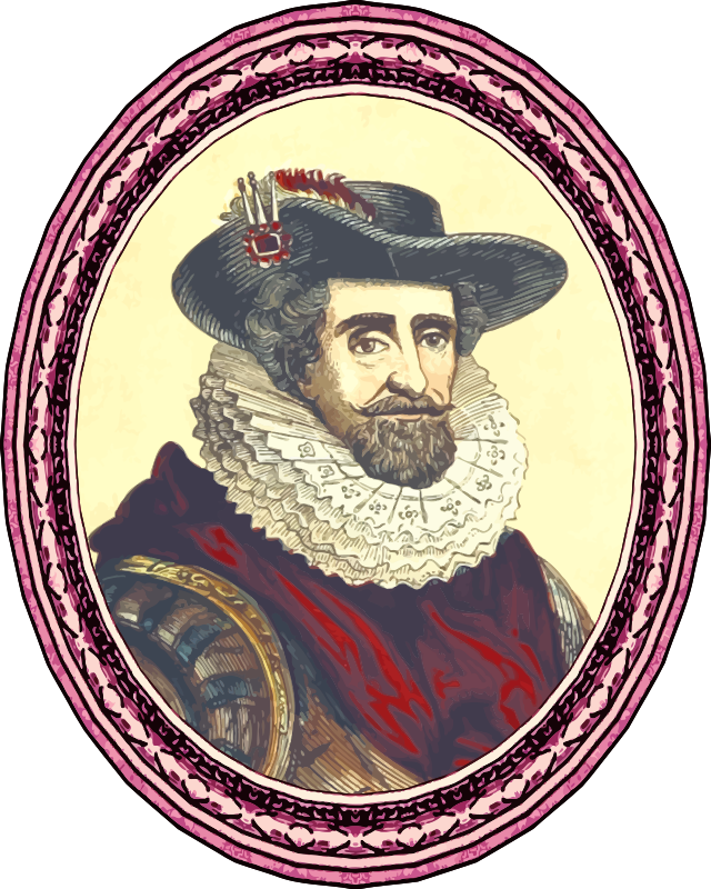 King James I (framed)