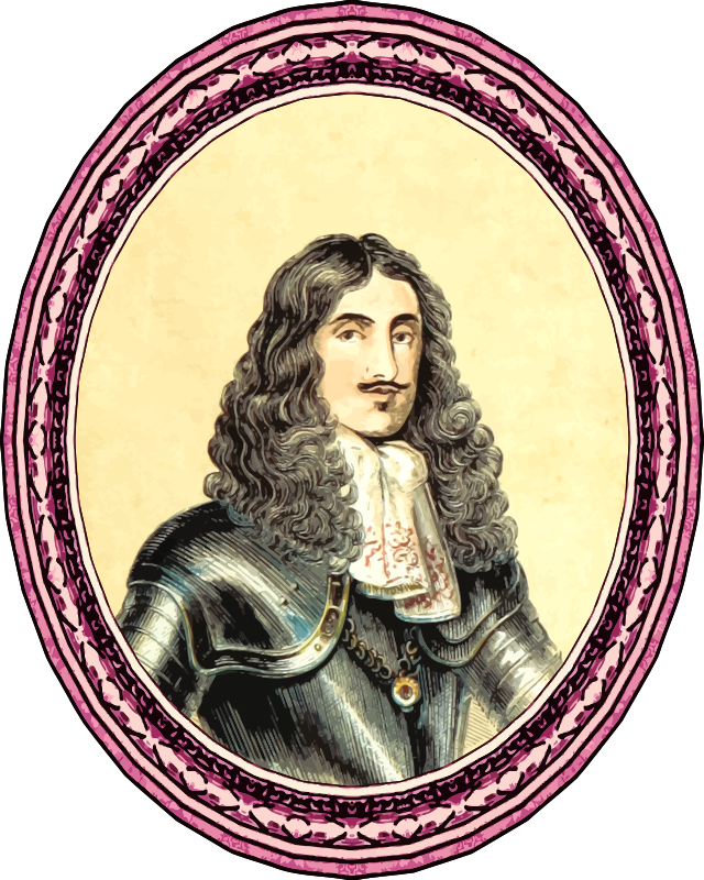 King Charles II (framed)