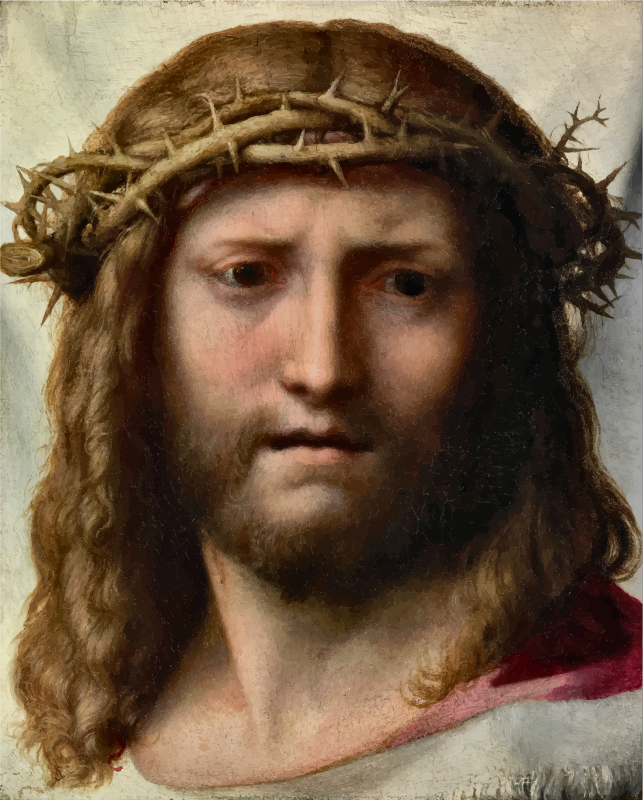 Antonio Allegri's Head Of Christ