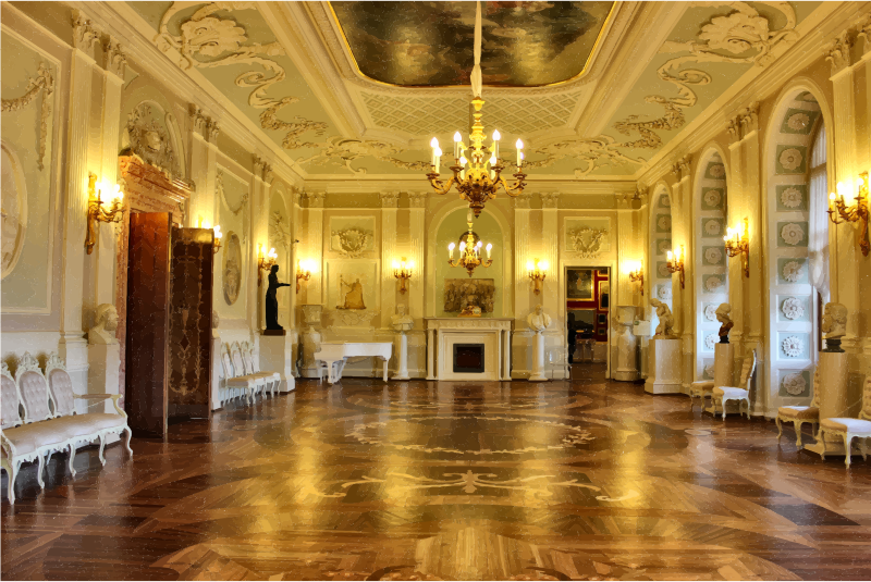 St Petersburg Palace Interior