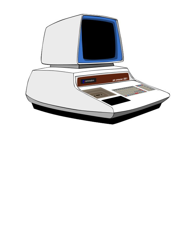 Commodore PET Computer Prototype
