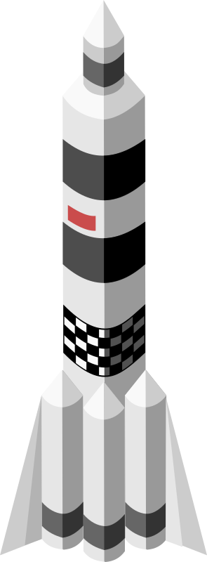 Isometric rocket