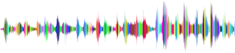 RGB Sound Wave No Background