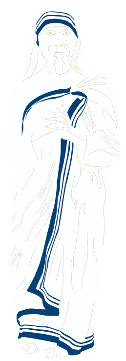 Saint Teresa Of Calcutta No Background