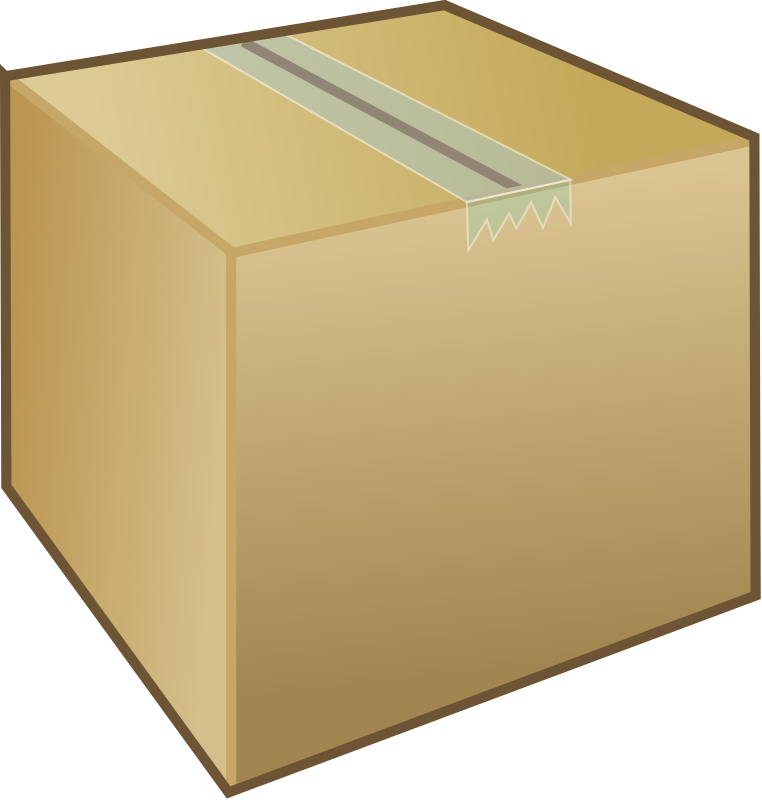 Cardboard box / package