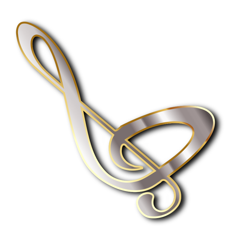 Concert Logo - Silver and Gold