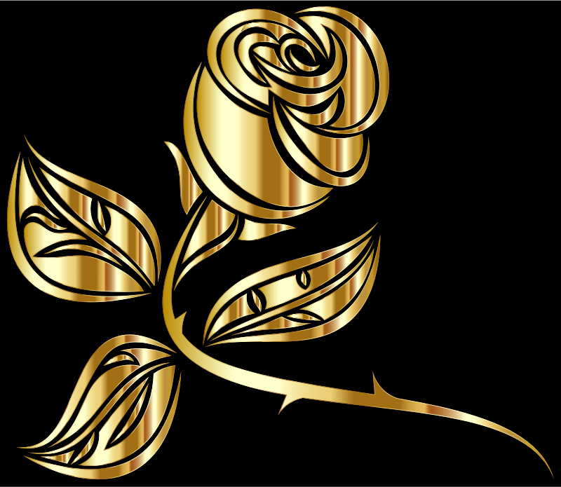 Stylized Rose Extended 3