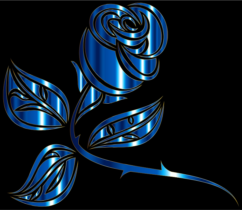 Stylized Rose Extended 5