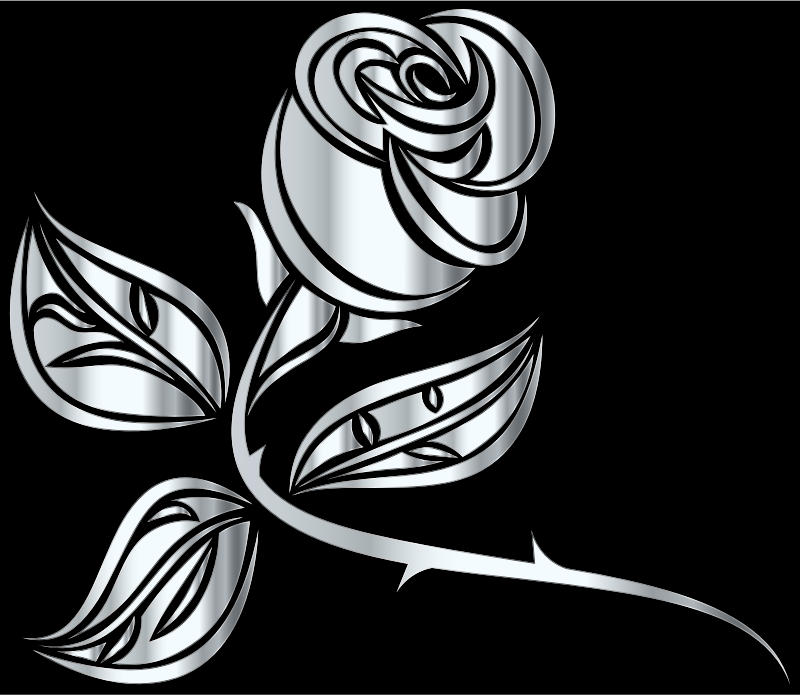 Stylized Rose Extended 7