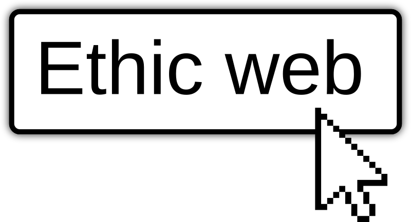 Ethic web english button