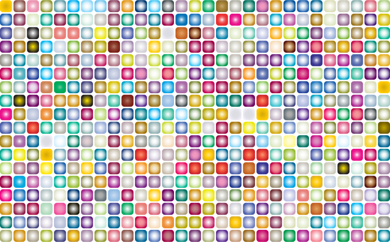 Prismatic Rounded Squares Grid 2