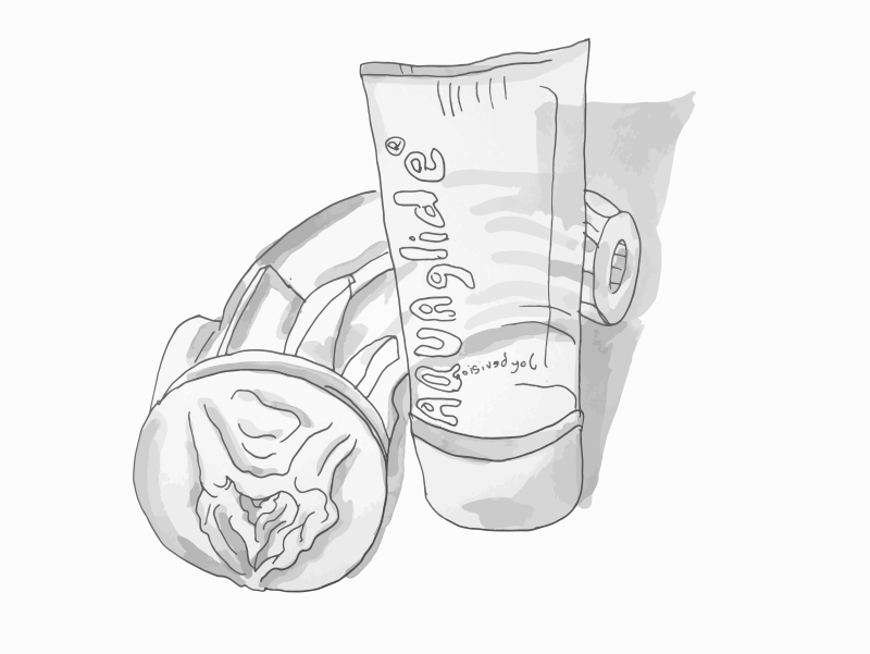 Fleshlight Freaks! The Alien and Aquaglide lubricant