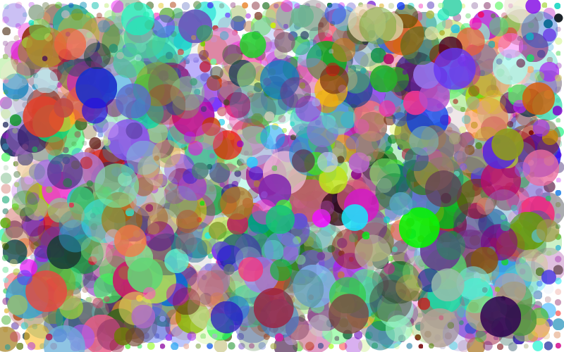 Prismatic Circles Background 2