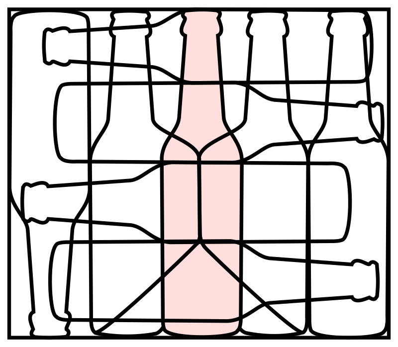puzzle picture bottle