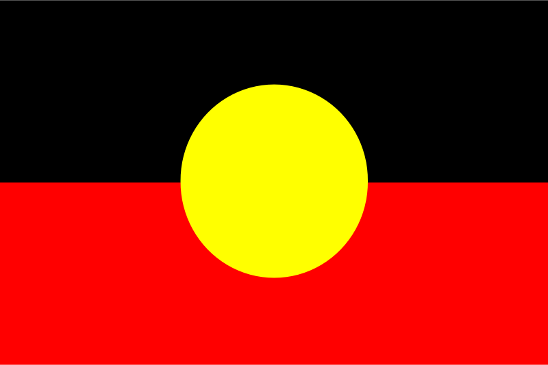 Flag of Australian Aborigines