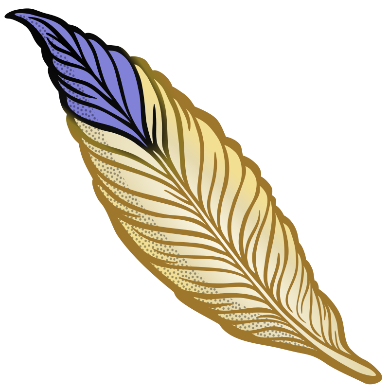 feather - coloured