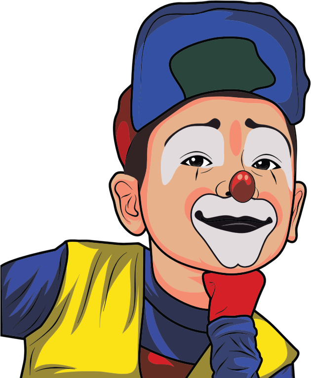 Clown Illustration 2