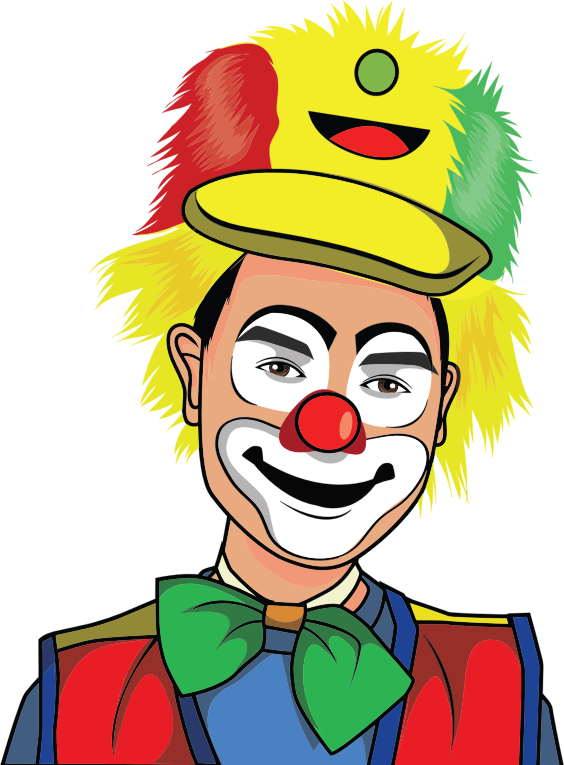 Clown Illustration 5