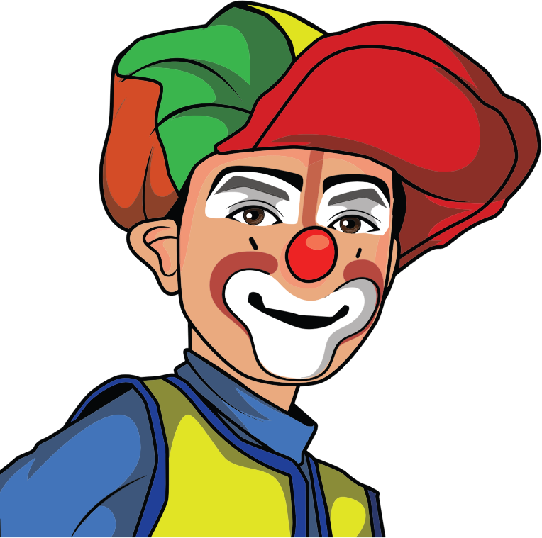 Clown Illustration 6