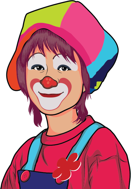 Clown Illustration 8