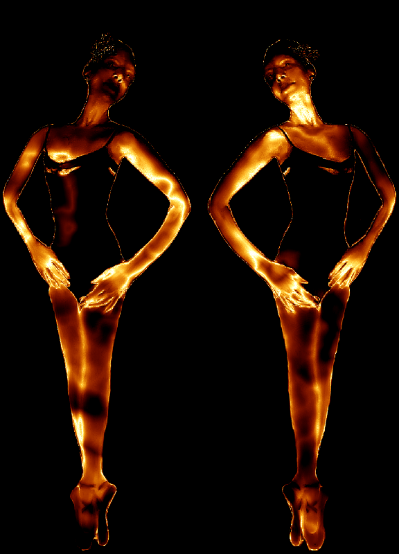 Golden Ballet Duo