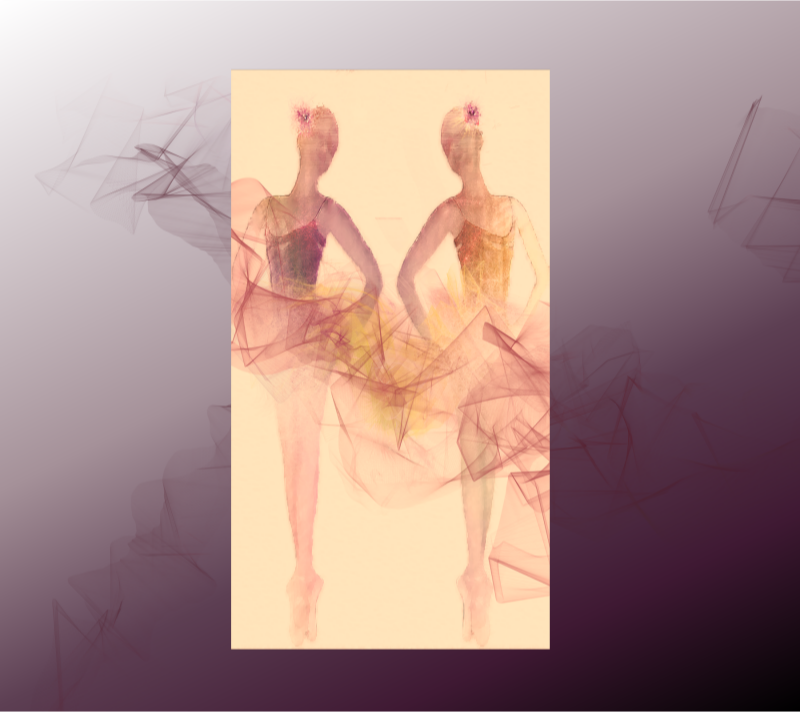 Ballerina Brilliance Duet with Background