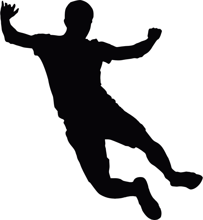 Jumping Man Silhouette 2