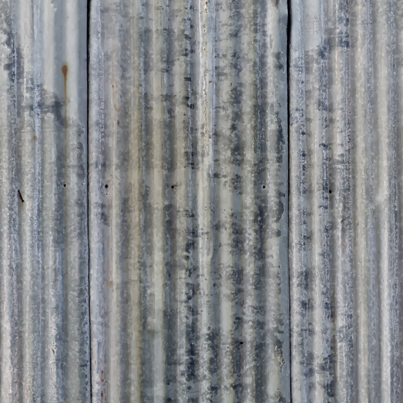 Corrugated metal 2