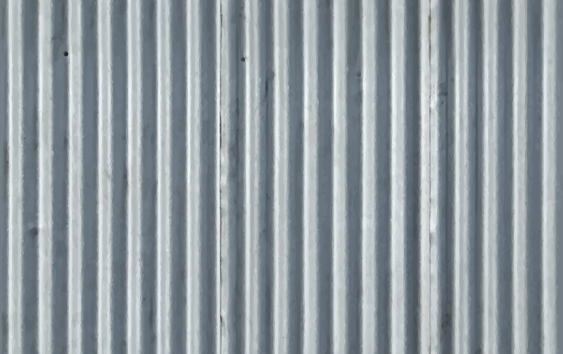 Corrugated metal 6
