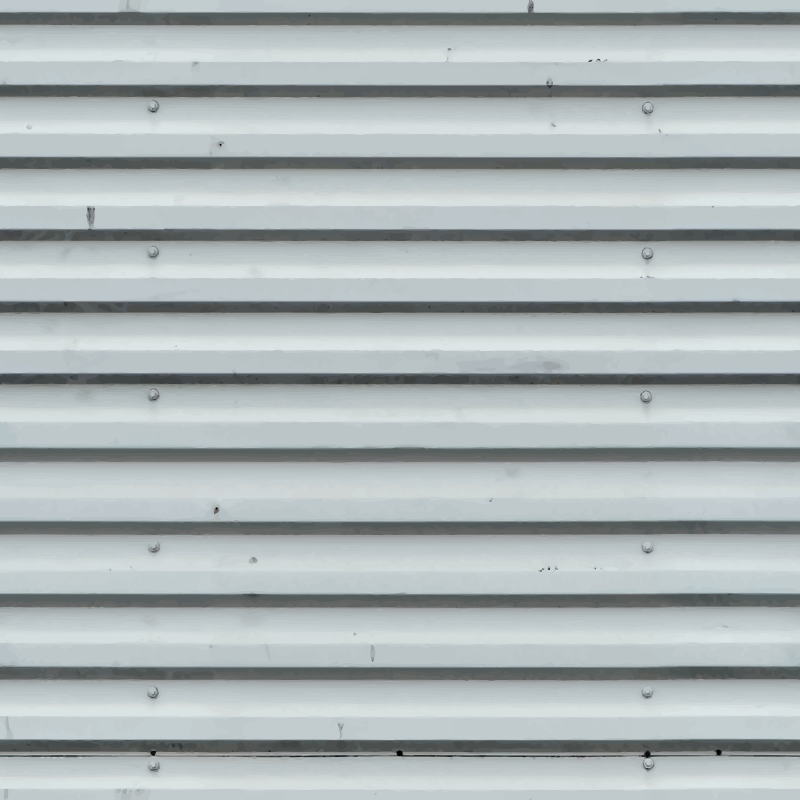 Corrugated metal 10