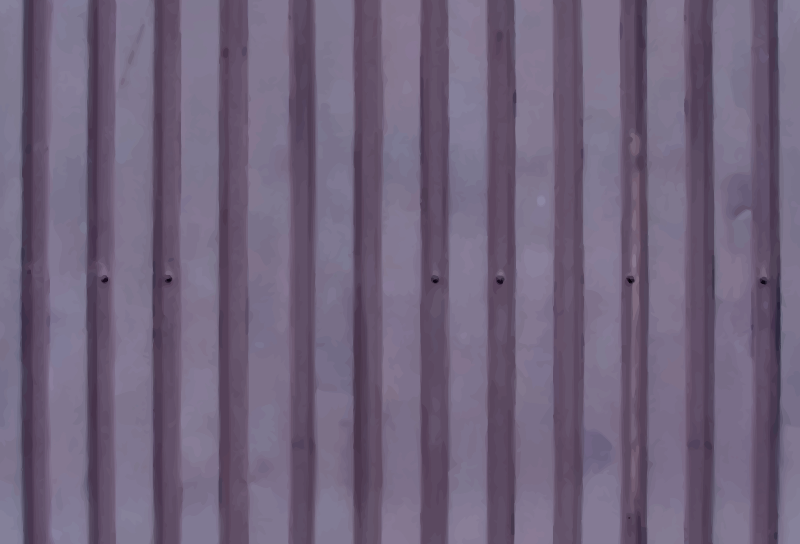 Corrugated metal 11