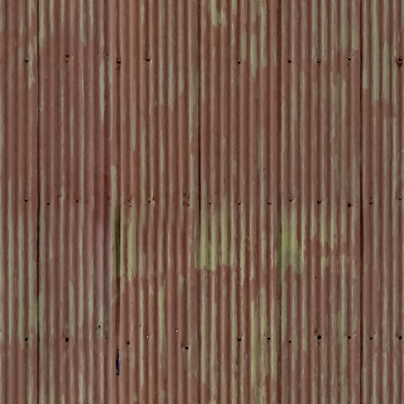 Corrugated metal 12