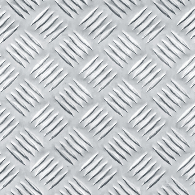 Patterned metal plate 6