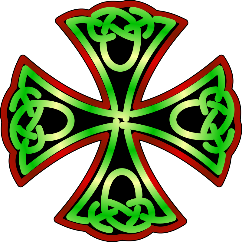 Knotwork Cross