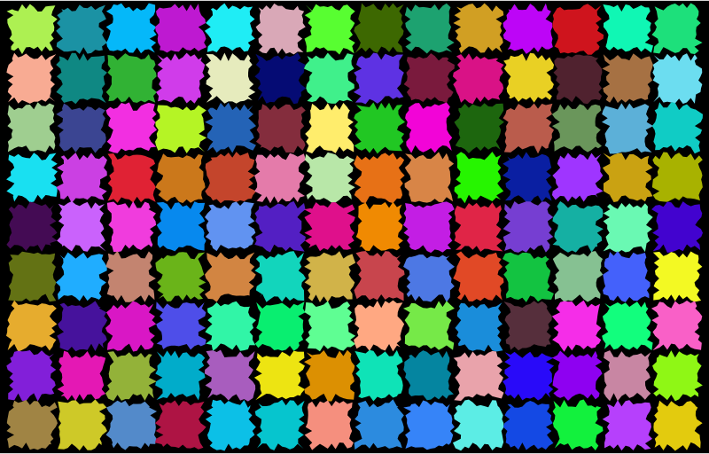 Abstract Patches Background