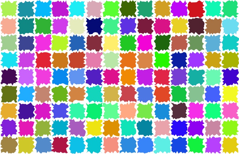 Abstract Patches Background No Black