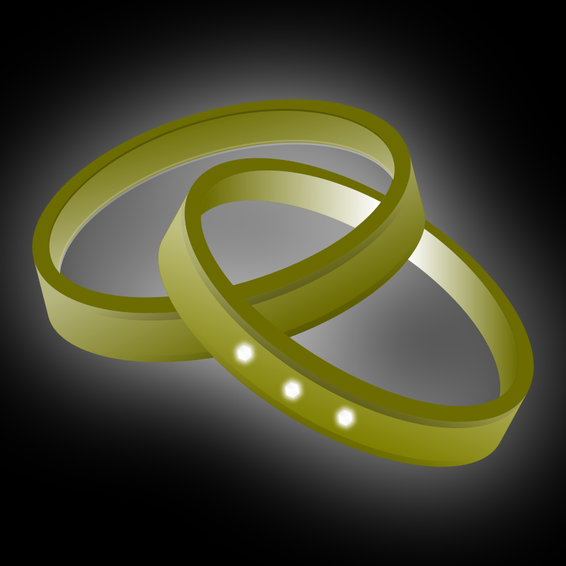 Wedding rings picture 2