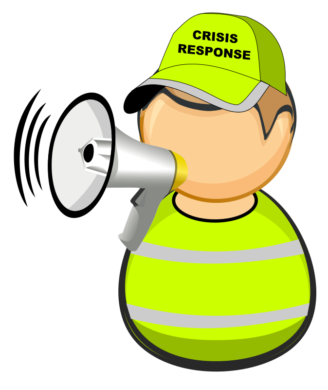 First responder - crisis response worker