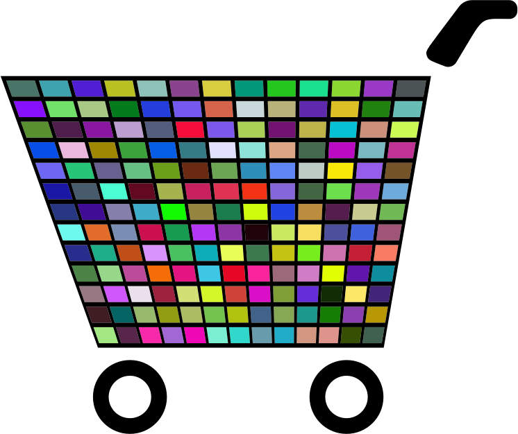 Prismatic Shopping Cart Icon 3
