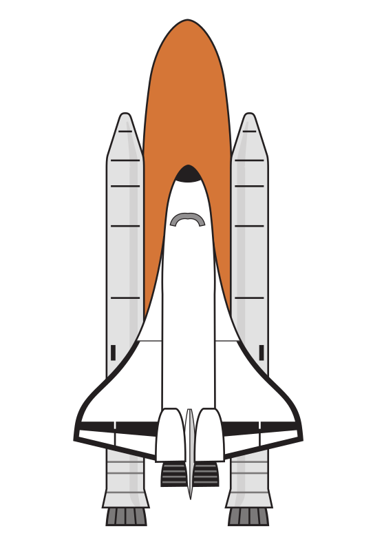 Shuttle Boosters Colour