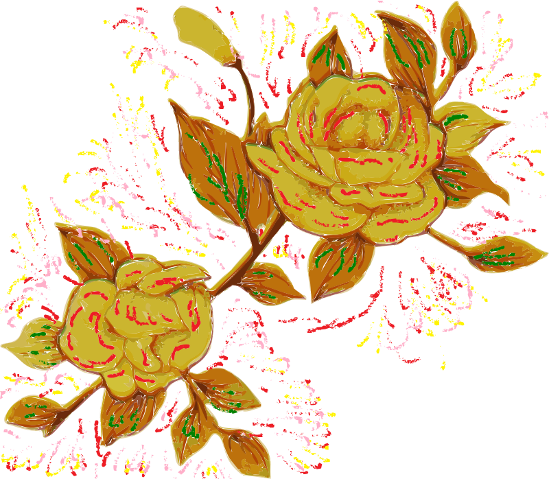 yellow flower rework