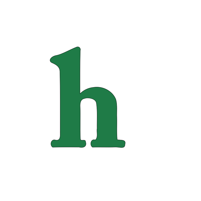 Lowercase h